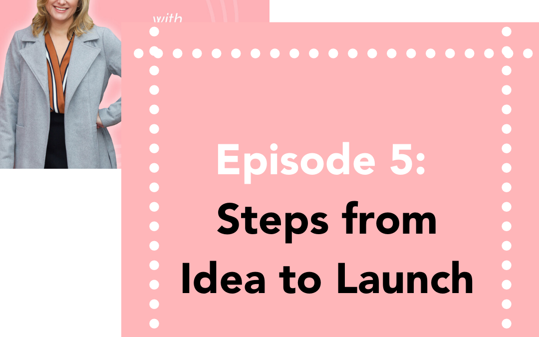 #5: Steps from Idea to Launch