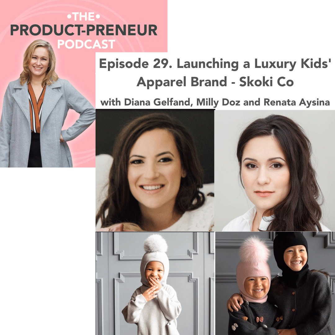 podcast episode - 3 women launch conscious apparel brand