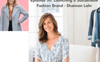 30. Launching a Sustainable Fashion Brand – Shannon Lohr